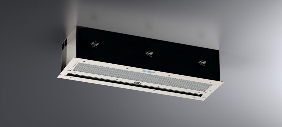 Concealed Air Curtain RQ-5 Stainless Steel 02